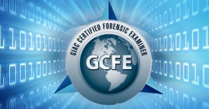 GCFE - Certified Forensic Examiner